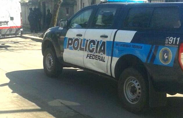 El lugar de operativo de la División de Drogas Peligrosas (Foto: La Gaceta).