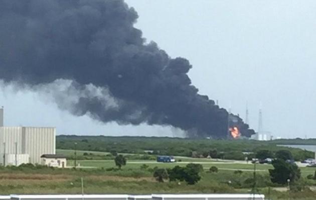 VIDEO: Explotó un cohete en Cabo Cañaveral