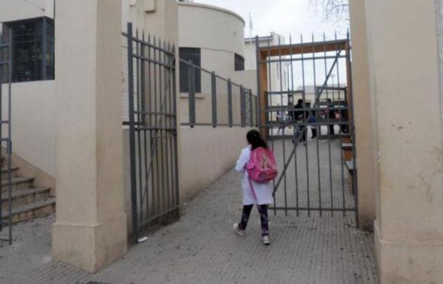 La escuela recibe a muchos alumnos con discapacidad.