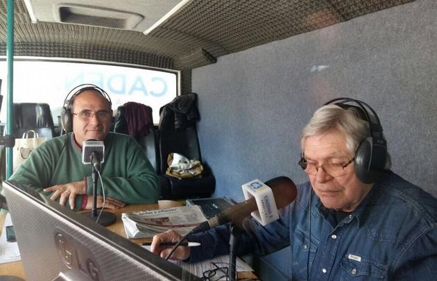Viva la Radio desde la Exposición de la Sociedad Rural de Río Cuarto.