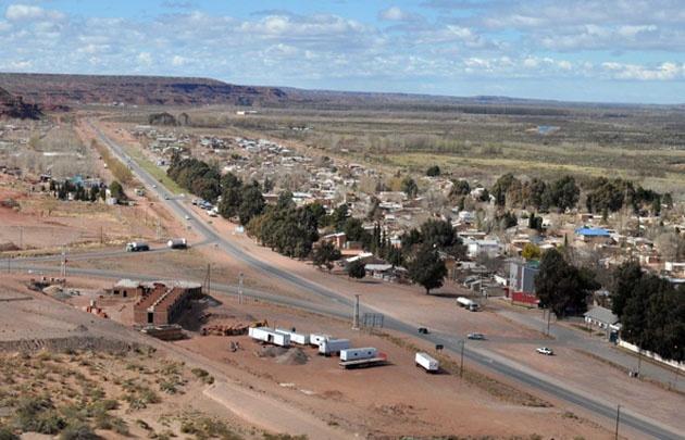 Añelo se desarrolló con las instalación del yacimiento de Vaca Muerta.