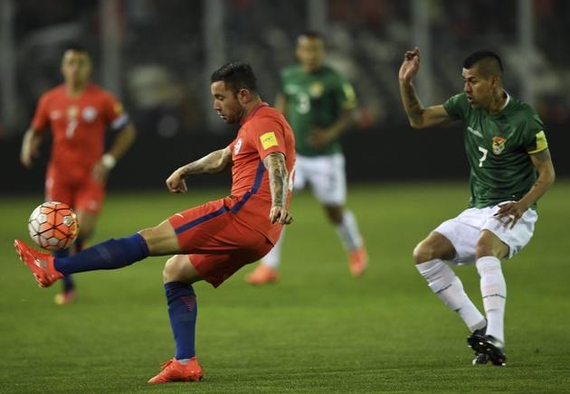 El seleccionado boliviano consiguió un valioso empate ante Chile.