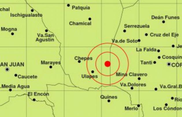 Un fuerte sismo sacudió Traslasierra, en Córdoba.