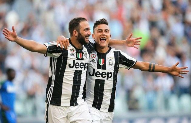 Higuaín y Dybala fueron claves en el triunfo de Juventus.