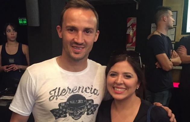 Gonzalo Klusener junto a Geo Monteagudo.