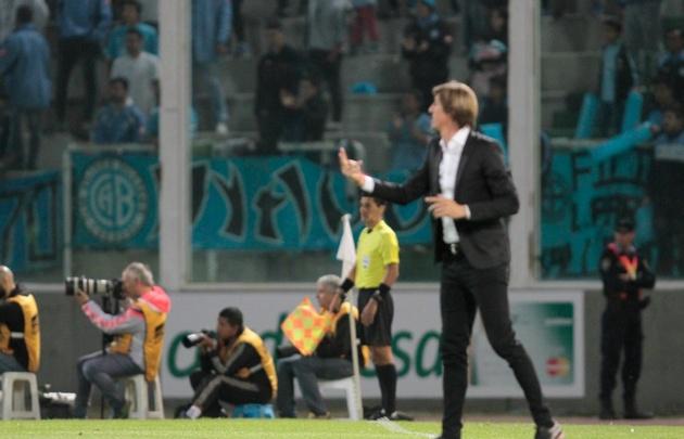 ''Teté'' González destacó la tarea de Belgrano ante Coritiba (Foto: Archivo)