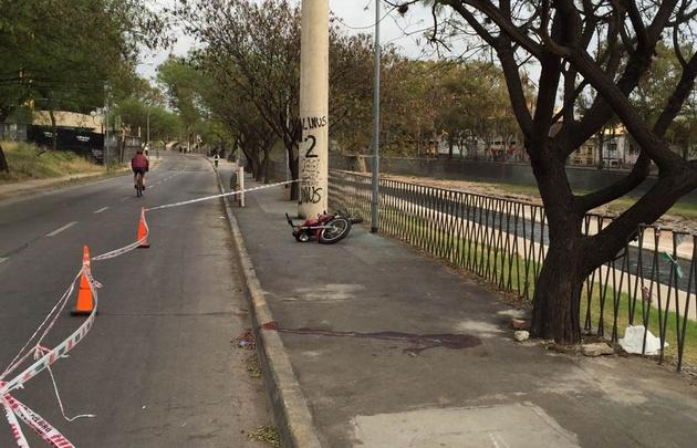 Una joven murió este domingo en la Costanera.
