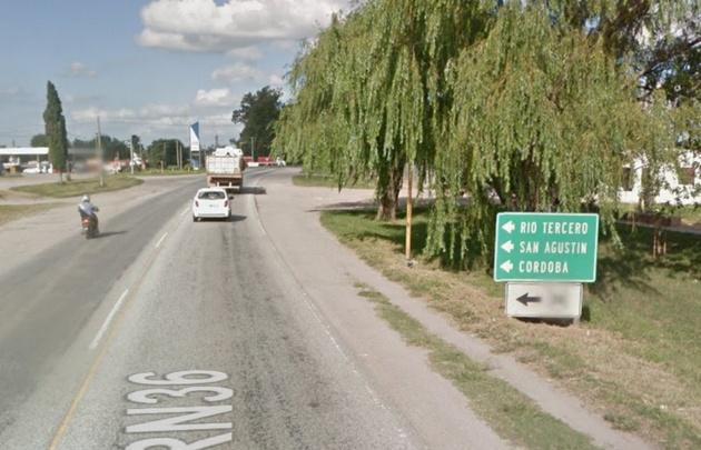 El fatal accidente se produjo en ruta 6 (Foto: Google Street View)