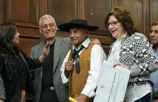 La Legislatura de Mendoza distinguió a un hombre, de 61 años.