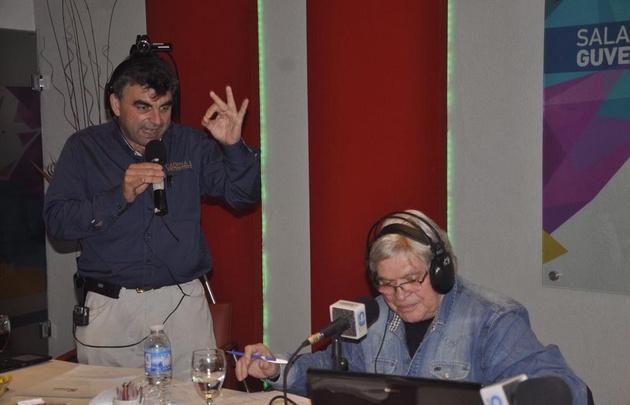 Rony Vargas transmitió Viva la Radio desde Tío Pujio.