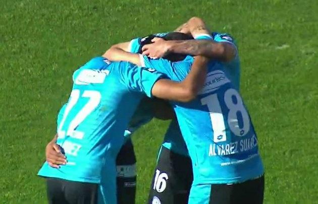 Bieler marcó los dos goles del triunfo de Belgrano ante Unión.