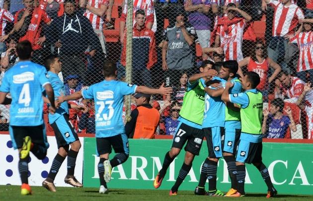 Belgrano consiguió su primer triunfo del torneo ante Unión.