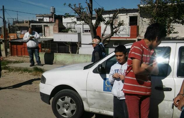 Persiste la conmoción en Quilmes por la muerte del nene.