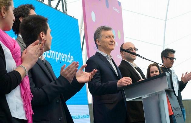 Macri, al entregar los premios