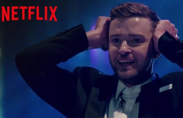 Justin Timberlake en el living de tu casa.