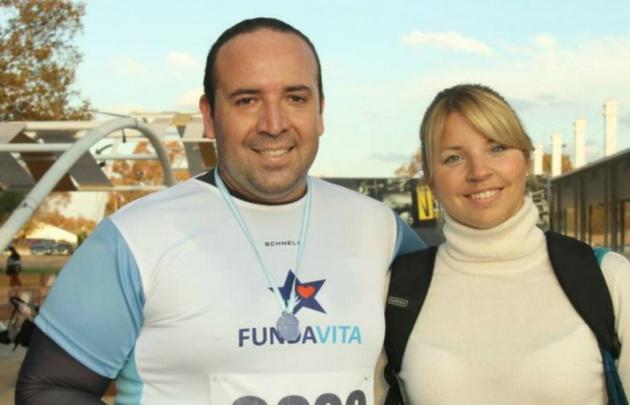 Darío Otazúa, el maratonista mendocino fallecido.