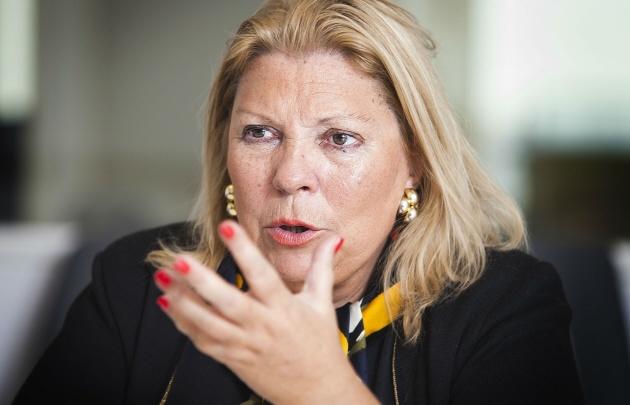 Según Carrió, Arribas habría recibido 600 mil dólares de un operador de Odebrecht.