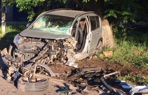 Accidente en el viejo camino a Monte Cristo.