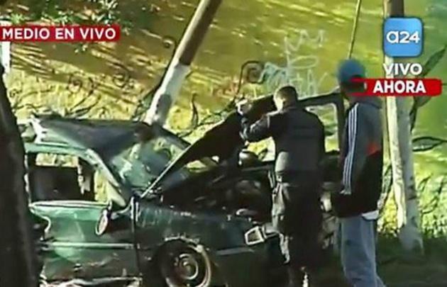 Una joven de 16 años murió en un accidente en Caseros.
