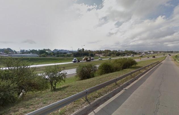 La séptima víctima murió en la colectora de Circunvalación (Foto: Street View)