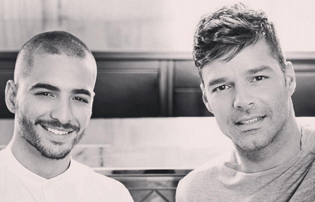 Ricky Martin y Maluma en el puesto Nº1 con la canción ''Vente pa' ca''.