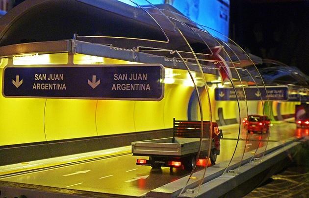 Chile y Argentina avanzan en la construcción del túnel.