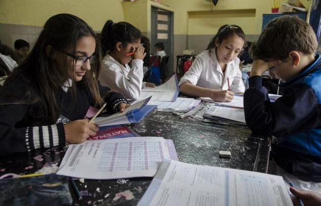 La evaluación, que incluye a 1.400.000 alumnos de todo el país.