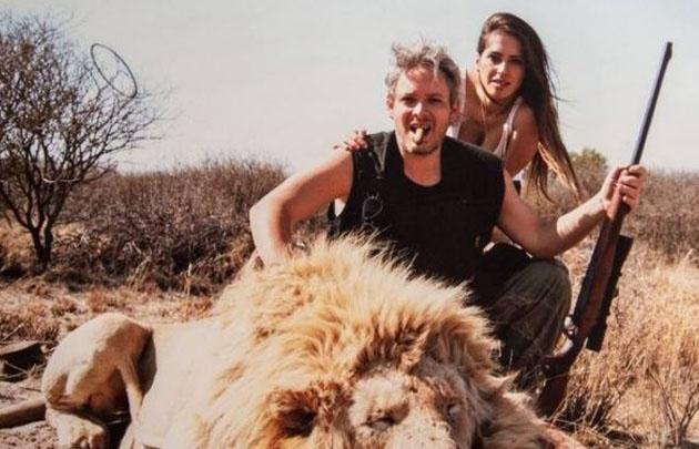 Garfunkel pidió disculpas por las fotos cazando animales.