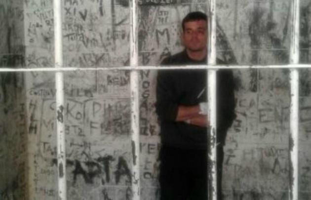 Daniel Zalazar, detenido en la Comisaría Séptima