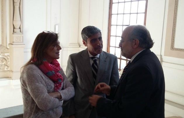 Liliana Montero, Juan Pablo Quinteros y Aurelio García Elorrio (Foto: Agenda 4P)
