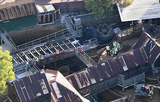 Cuatro personas murieron en una montaña rusa en Australia.