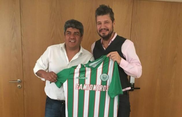 El conductor se enfrentó con Hugo Moyano en las últimas elecciones en AFA.