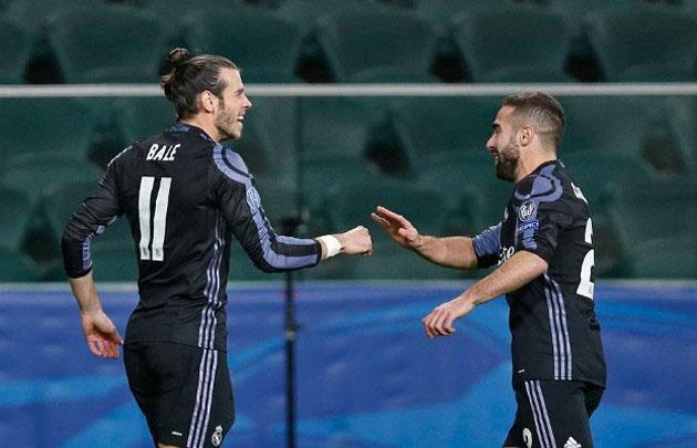 Gareth Bale hizo el gol más rápido del Real Madrid.