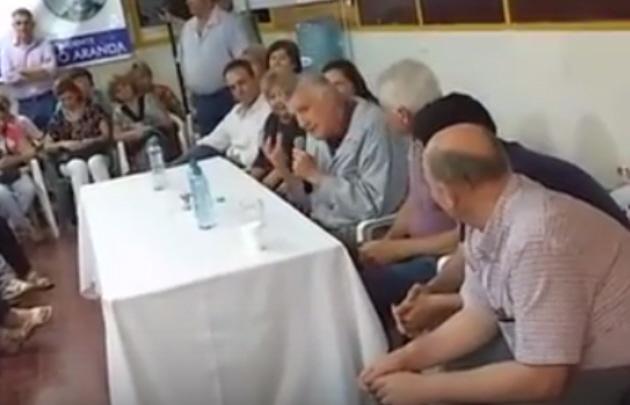 José Luis Gioja trató de boludo a Macri.