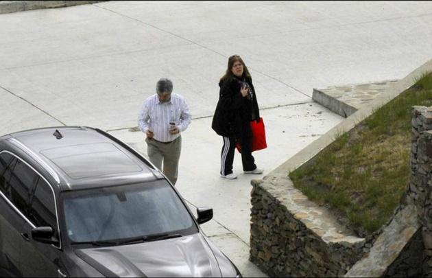 Báez y su ex en otros tiempos (Foto: Revista Noticias).