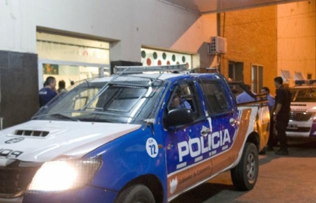 La nena fue trasladada al hospital pediátrico Eva Perón (Foto: online-911.com)
