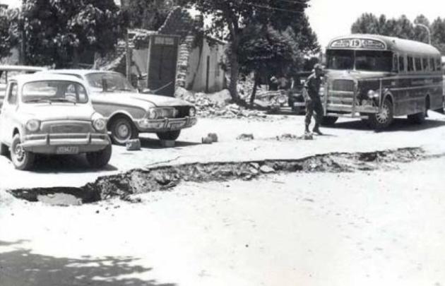 El terremoto de Caucete dejó más de 100 muertos.