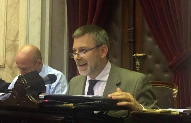 Javier Pretto, diputado oficialista.