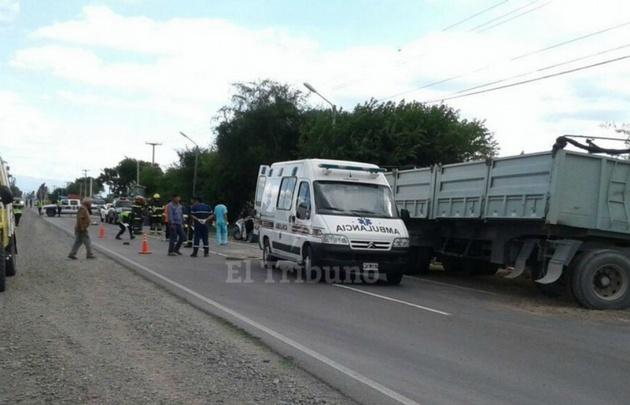 Tres muertos en un accidente en la ruta 68, en Salta.