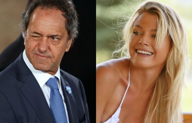 Scioli viajó a Punta Cana con una ex bailarina de ShowMatch.