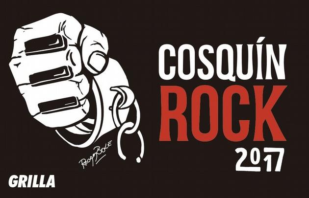Grilla oficial del Cosquín Rock