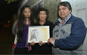 Luis, el padre de Paola Acosta, víctima de femicidio en 2014.