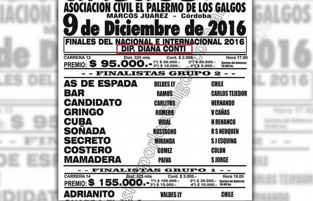 """El anuncio de la Asociación Civil """"El Palermo de los Galgos""""."""