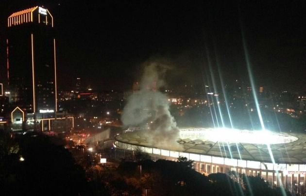 Las explosiones se registraron en las inmediaciones del estadio del Besiktas.