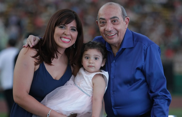 Geo, Mario y la princesa Amira.