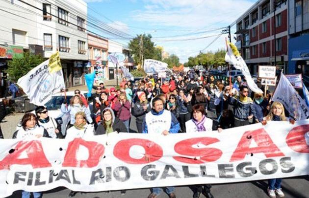 Los docentes de Santa Cruz salieron al cruce de las declaraciones de Bullrich.