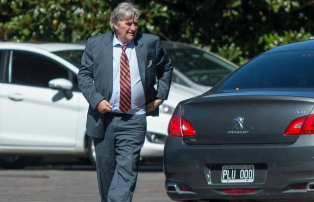 Pérez ingresó al edificio de la AFA este martes por la tarde (Foto: Archivo).