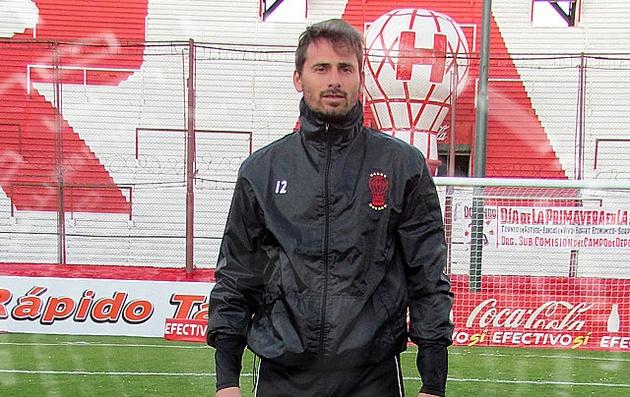 Matías Giordano fue decisivo para el triunfo de Huracán.