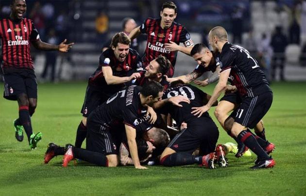 En un partido definido por penales, Milan se consagró campeón.