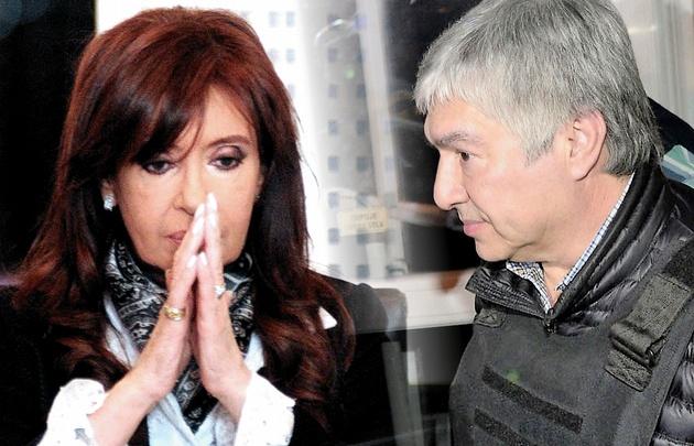 Cristina Fernández. Lázaro Báez.